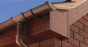 Swish Mahogany roofline as part of the colours range