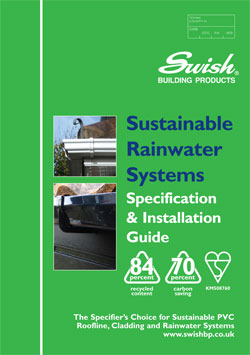 Swish Rainwater Installation Guide 0809