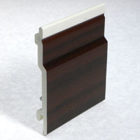 Swish Open V Cladding Mahogany