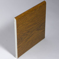Swish 6mm Skirting 95mm Light Oak