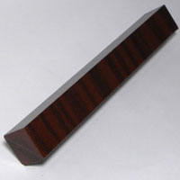 Swish External Corner 300mm Mahogany