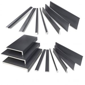 Anthracite Grey Smooth & Textured Foil